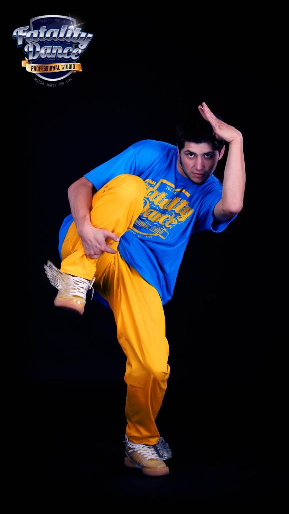 Преподаватель школы танцев Fatality Dance Studio по Break Dance - Черный Павел