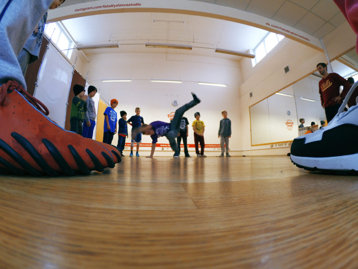 Мастер-Класс по Брейк-Дансу в школе танцев в Минске