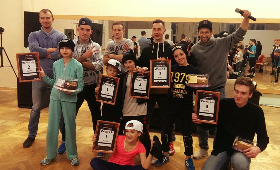 представители лучшей школы танцев в Минске на высоте