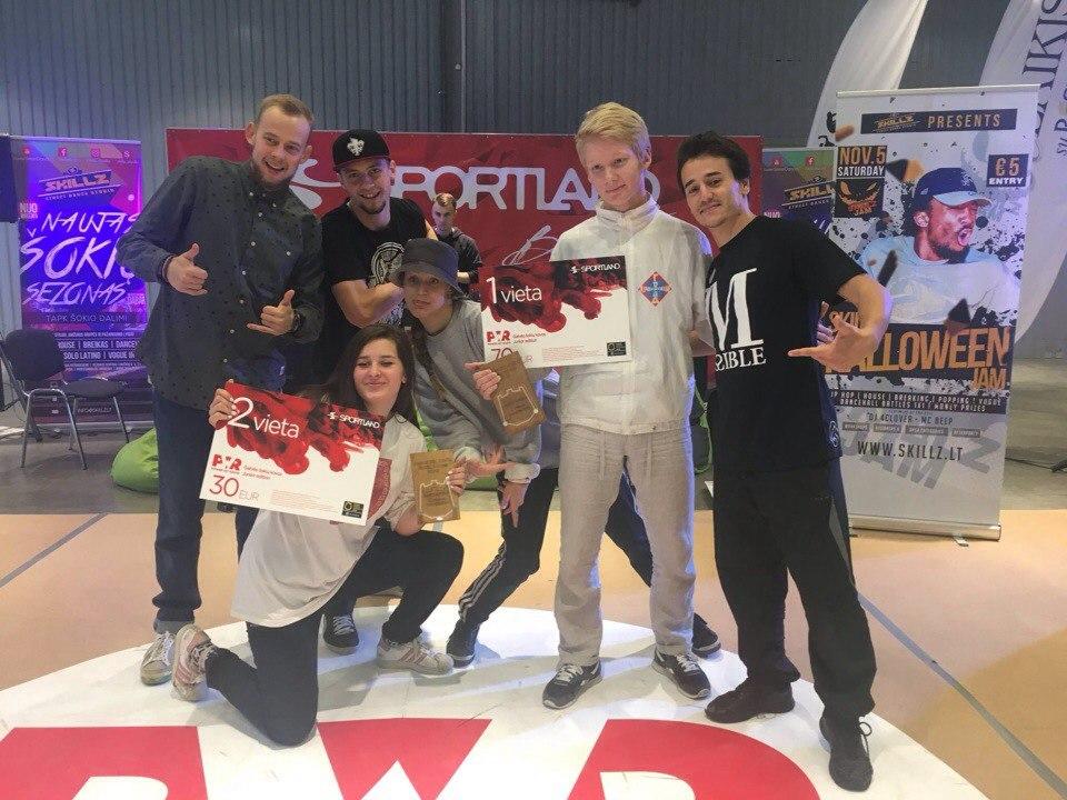 ученик школы танцев в Минске выиграл брейк-данс фестиваль в Литве