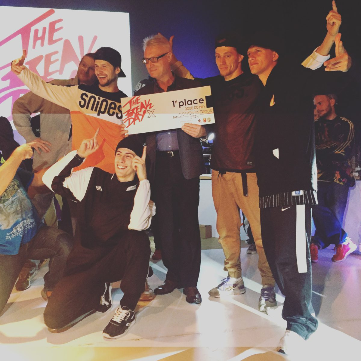 Преподаватель школы танцев занял 1 и 2 место на Брейк-Данс фестивале в Польше