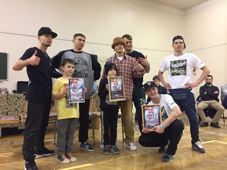 Ученики школы танцев в Минске заняли первые места на Брейк-Данс фествтале