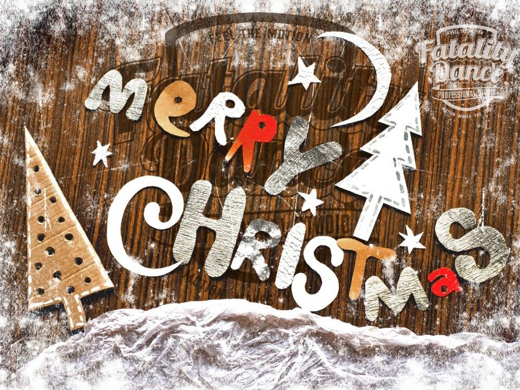 Лучшая школа танцев поздравляет всех с Рождеством