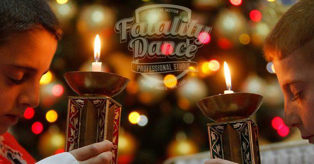 школа танцев в минске поздравляет в Рождеством