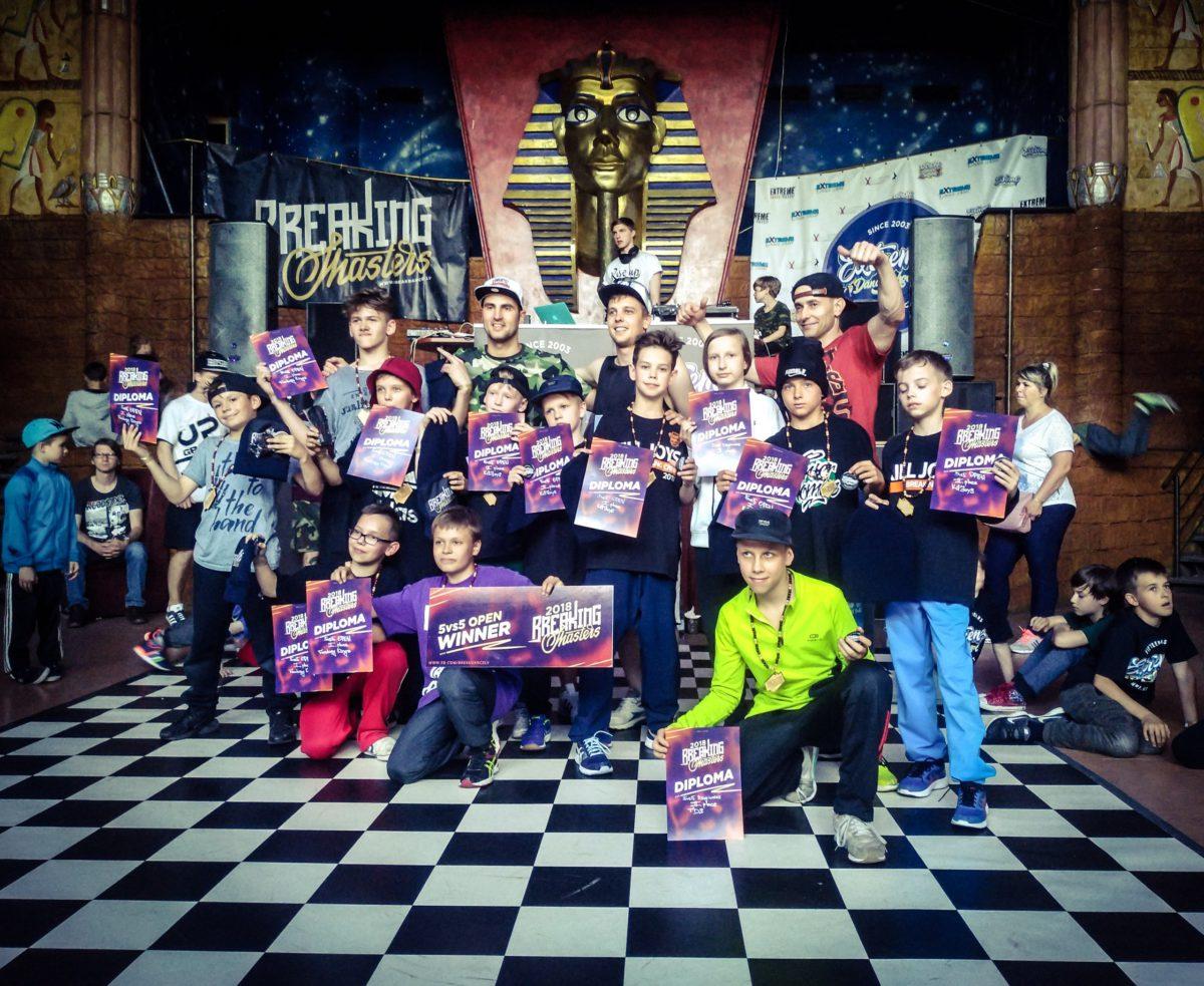 Ученики школы Брейк-Данса в Минске заняли призовые места в Риге