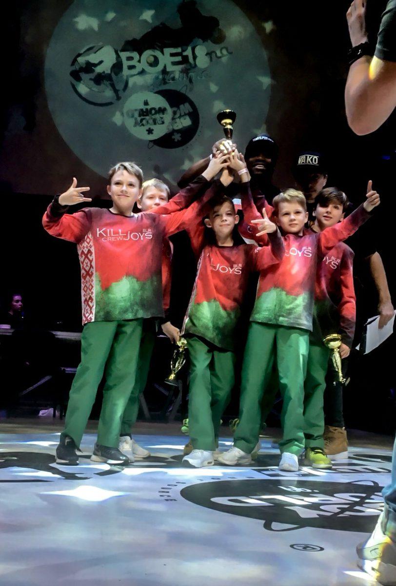 Ученики нашего Брейк-Данс центра выиграли крупнейший чемпионат в Эстонии