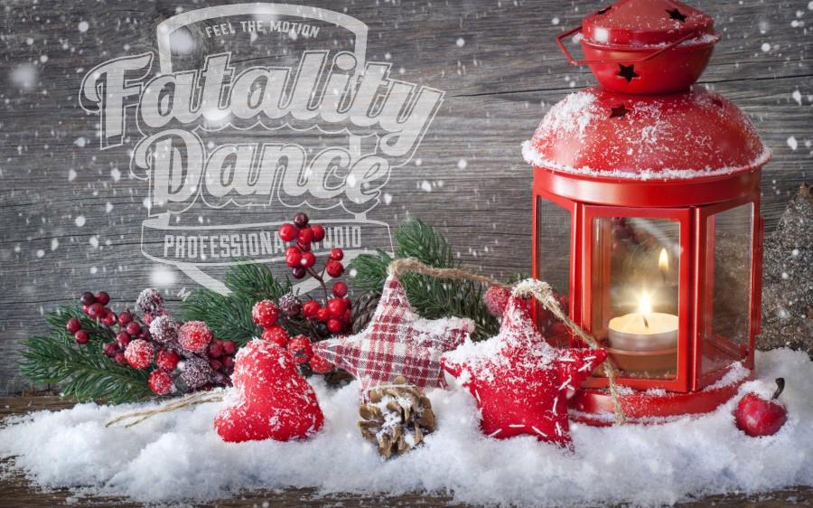 Школа танцев в Минске поздравляет с Католическим Рождеством