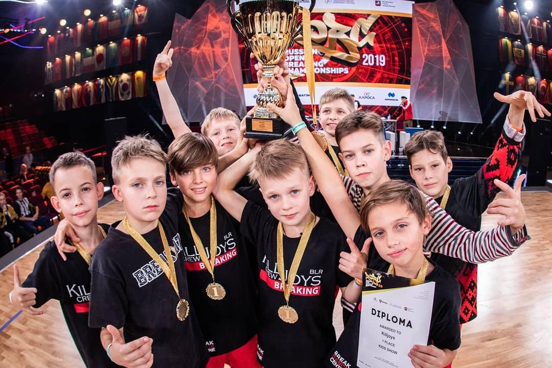 Ученики брейкинг центра в Минске выиграли чемпионат России