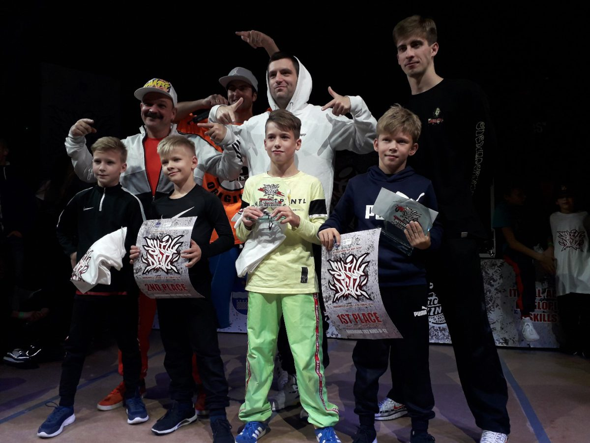 Ученик Брейк-Данс центра в Минске занял призовое место в Латвии