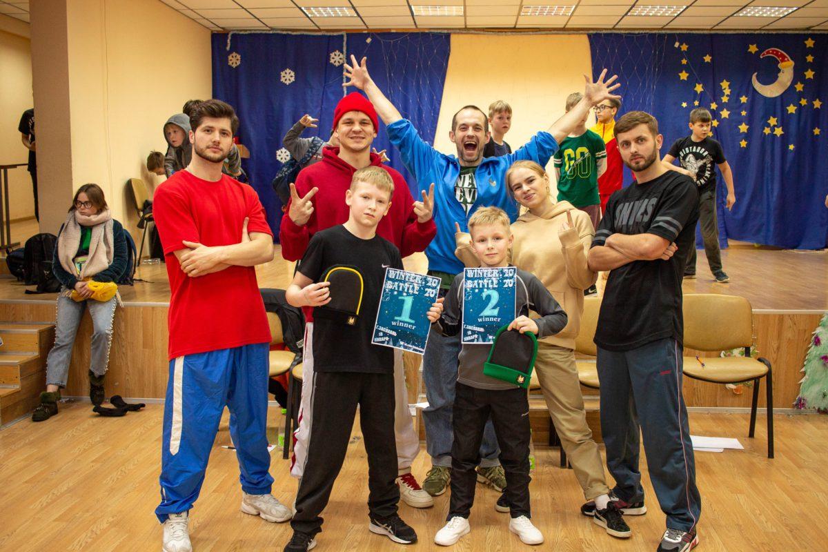 Ученики Брейкинг центра в Минске заняли первые места