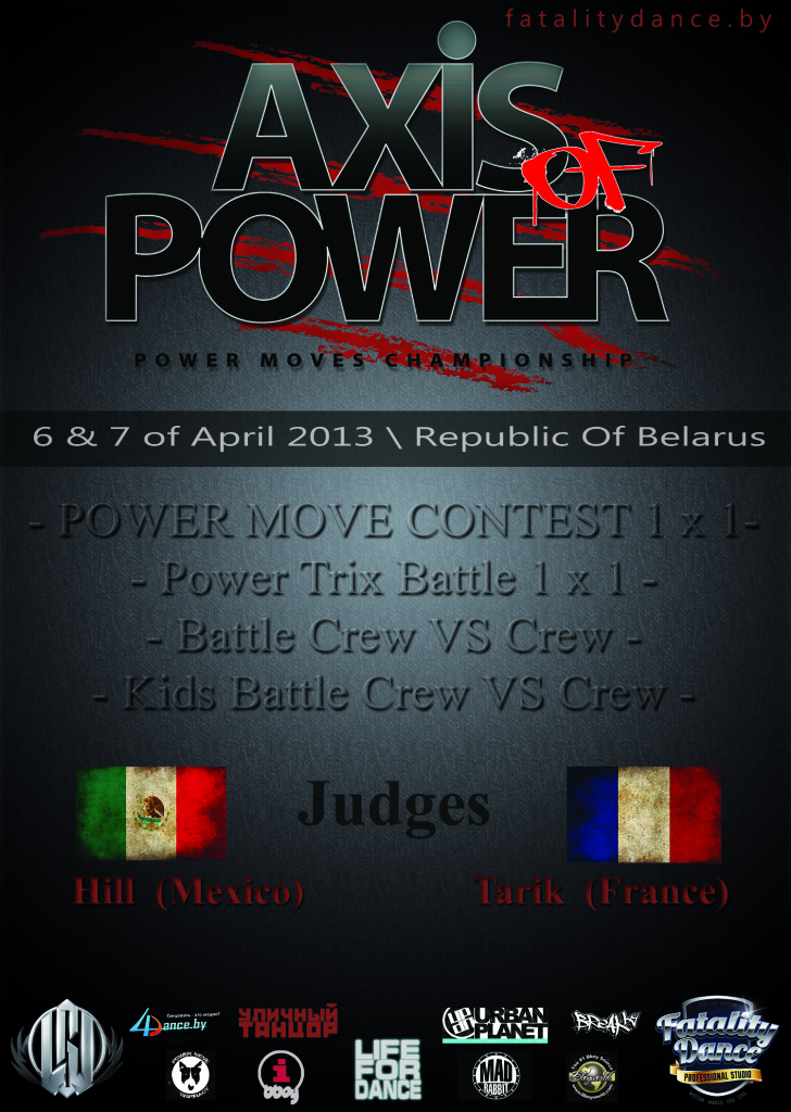 Axis Of Power'13 - poster