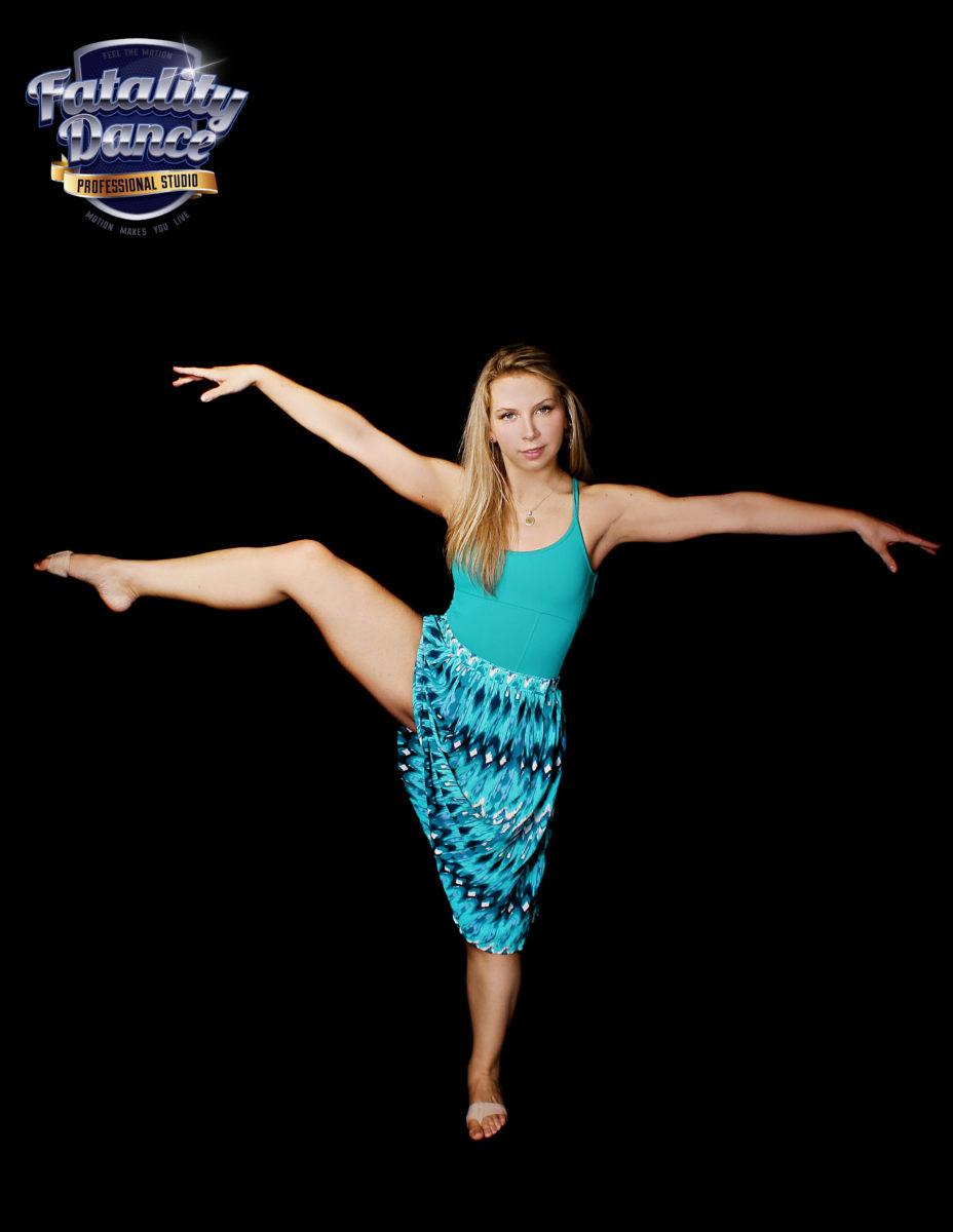 Валерия Тявловская - преподаватель Fatality Dance Studio по Contemporary Dance