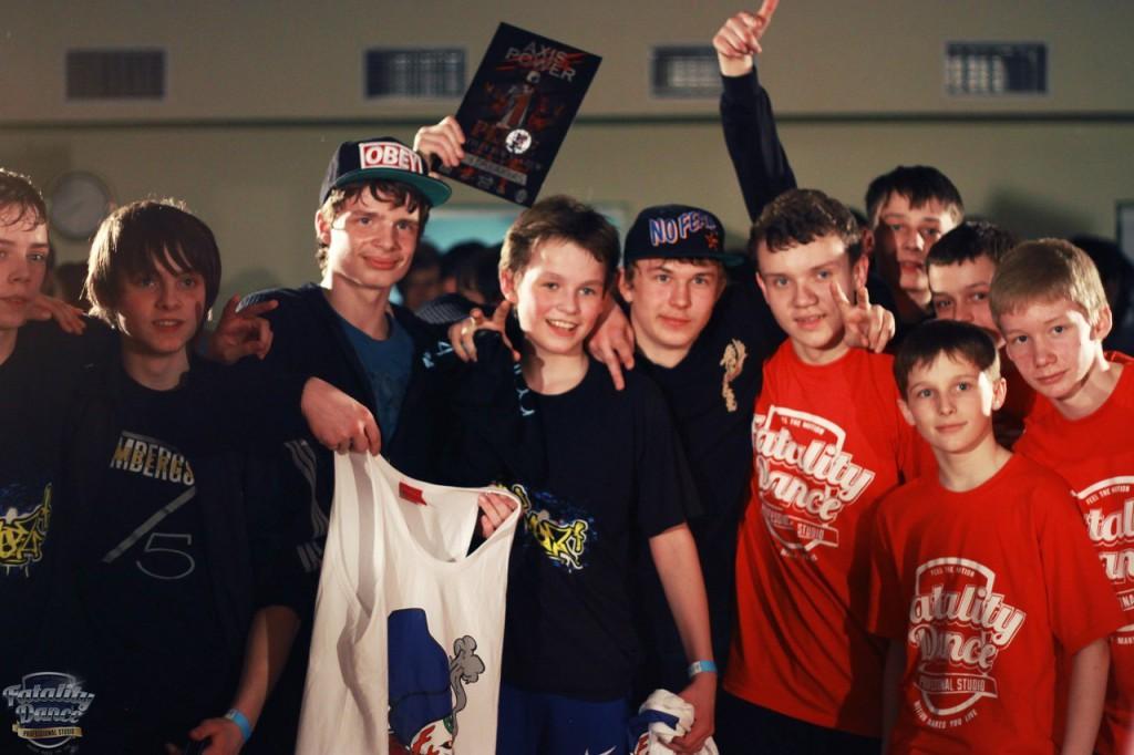 Ученики школы танцев Fatality Dance Studio