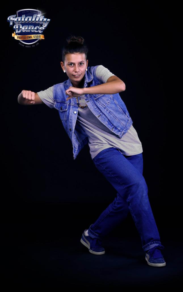 Преподаватель школы танцев Fatality Dance Studio по Hip-Hop - Ольга Клещенок