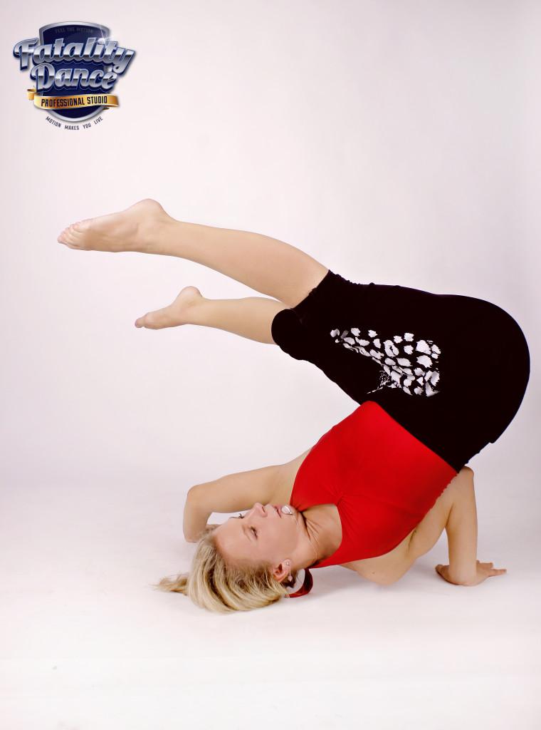 Валерия Тявловская - преподаватель Fatality Dance Studio по Пилатес и Contemporary Dance