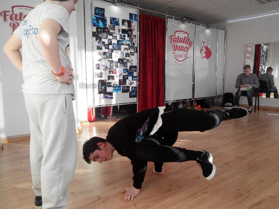 Отбор в основной состав по Break Dance