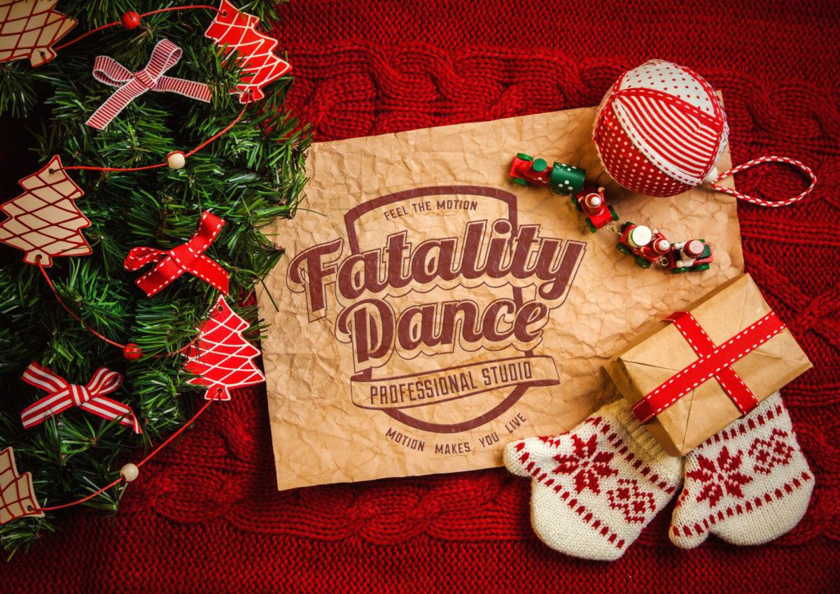 Поздравление с Рождеством от школ танцев в Минске
