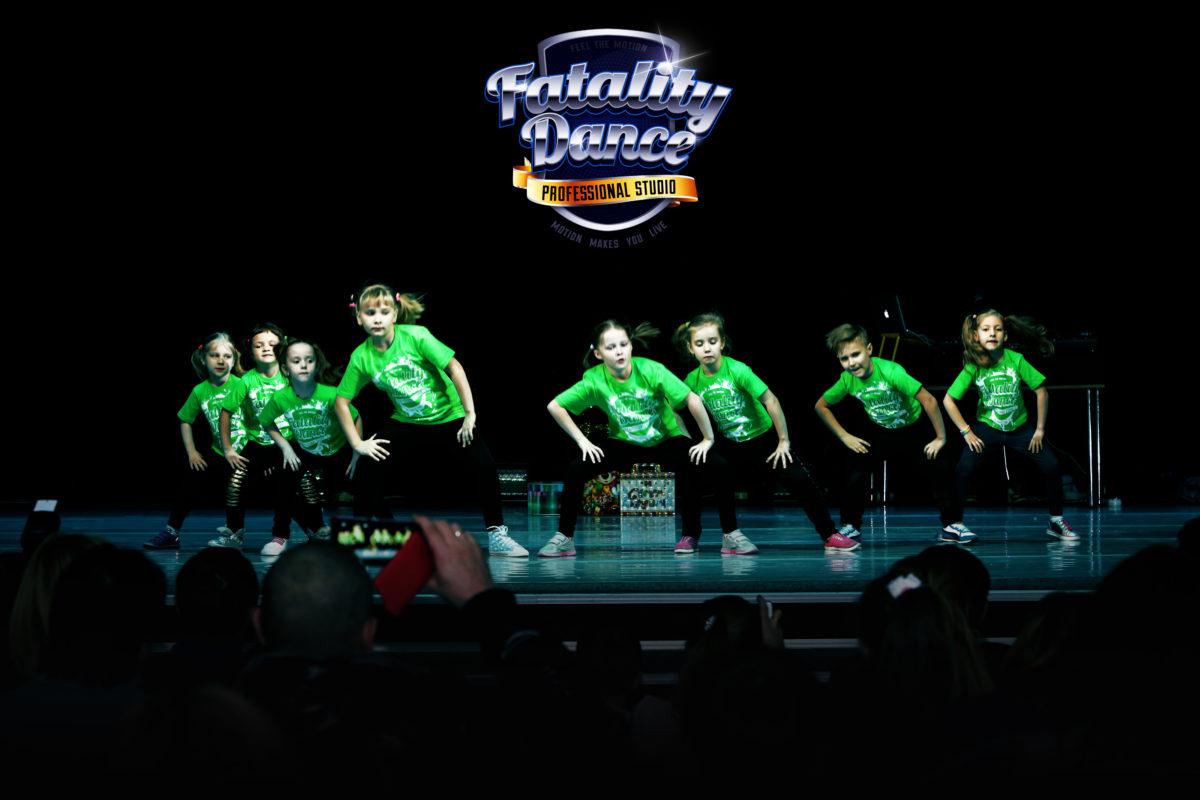фото отчет с новогоднего отчетного концерта школы танцев в Минске