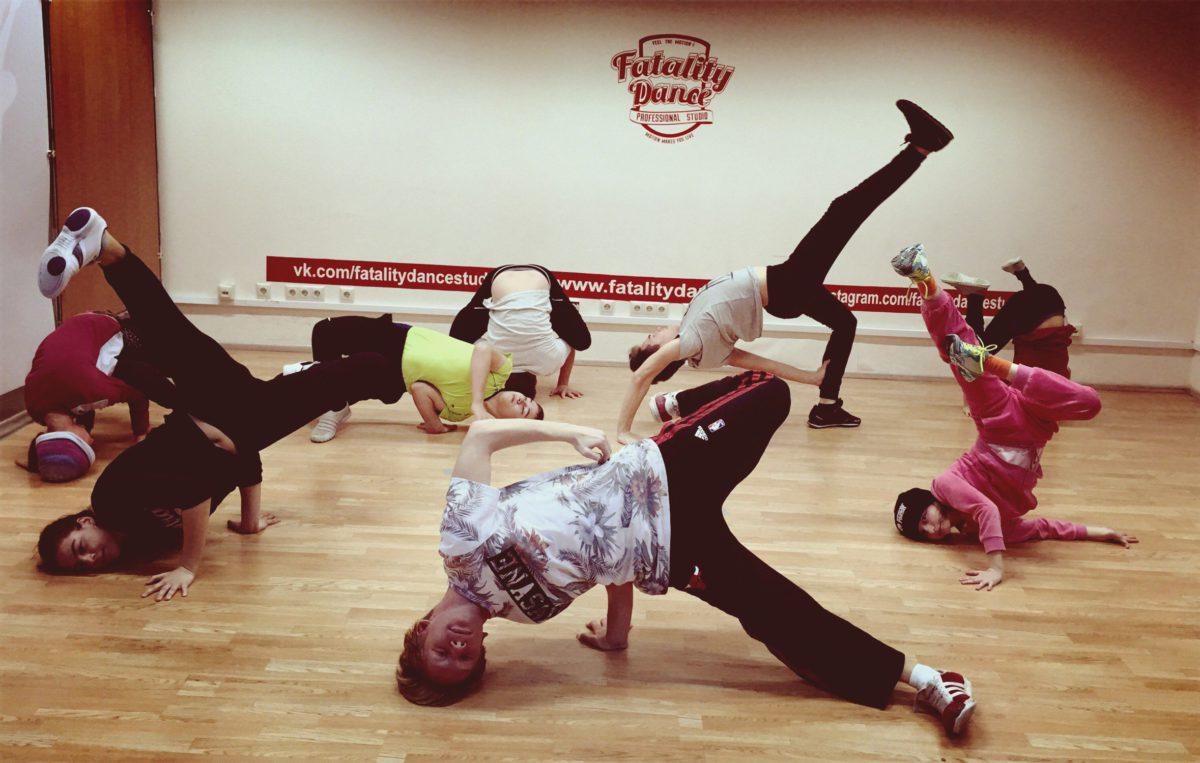 Занятия в школе танцев F.D.S. на 7 января