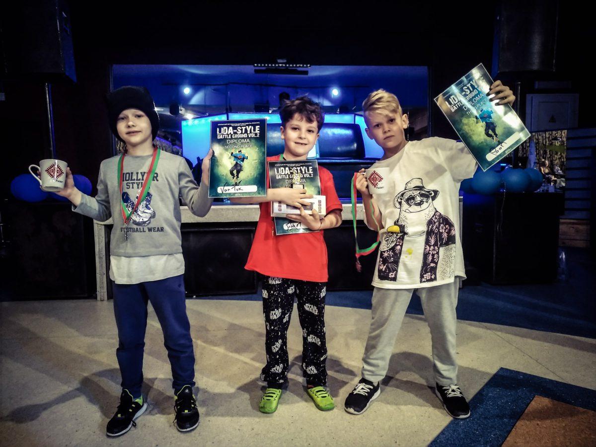 Ученики лучшей школы Брейк-Данс в Беларуси заняли призовые места на фестивале в Лиде