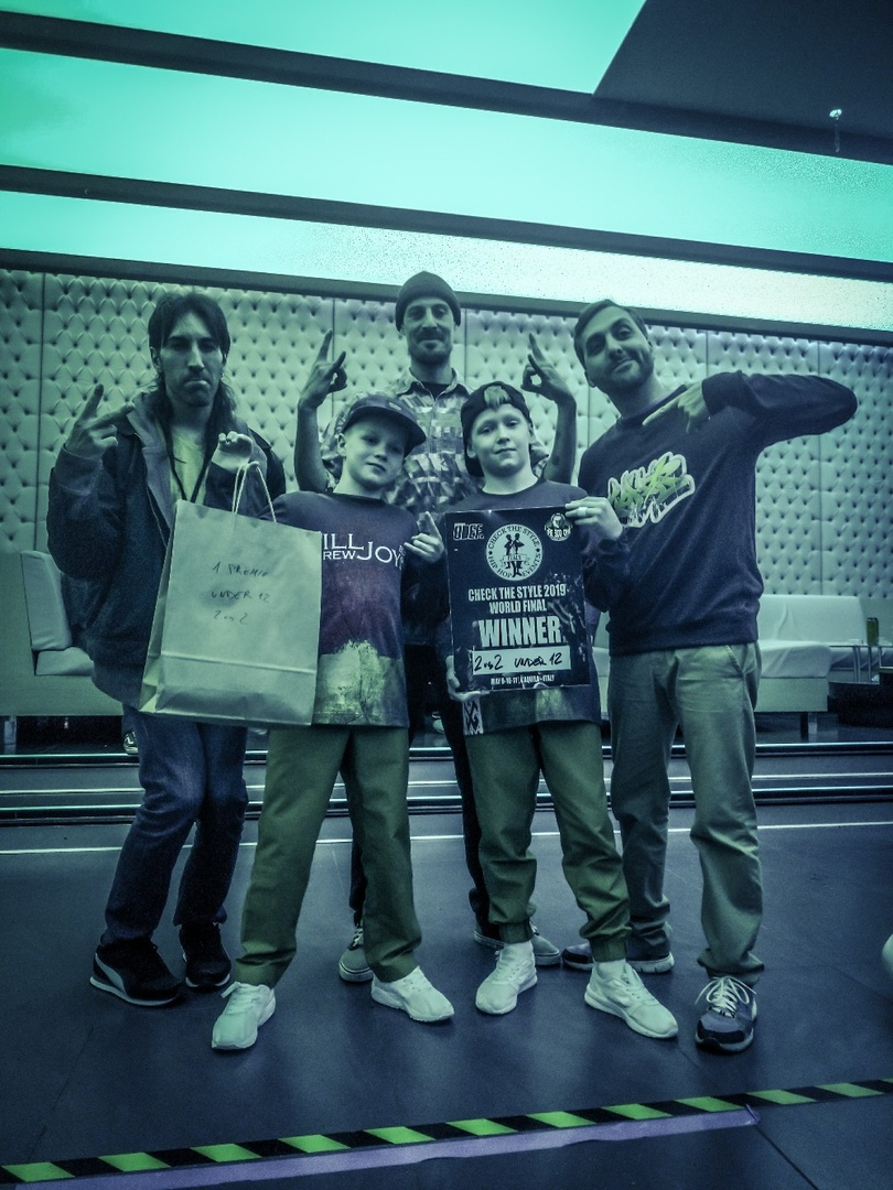 ученики лучшего брейк-данс центра заняли первое место на чемпионате в Италии