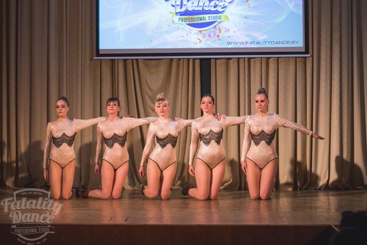 Фото с отчетного концерта школы танцев FDS