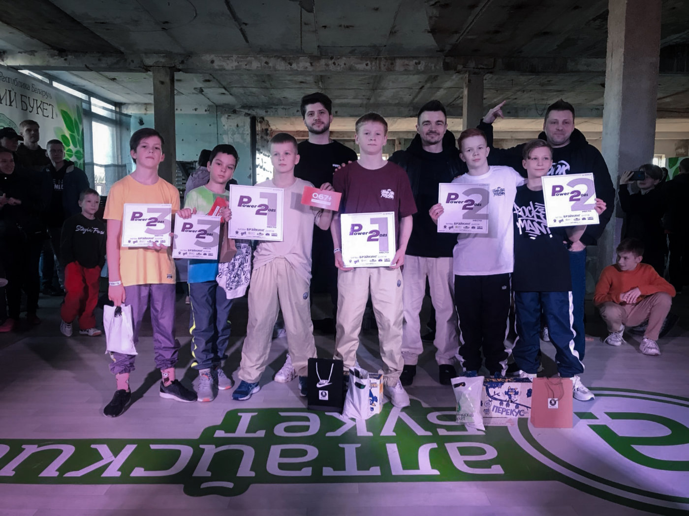 Победа наших учеников на брейк-данс фестивале Power of 2
